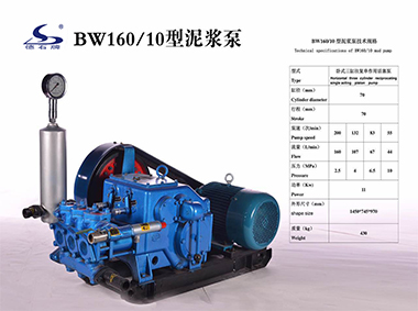 BW160/10 Mud Pump