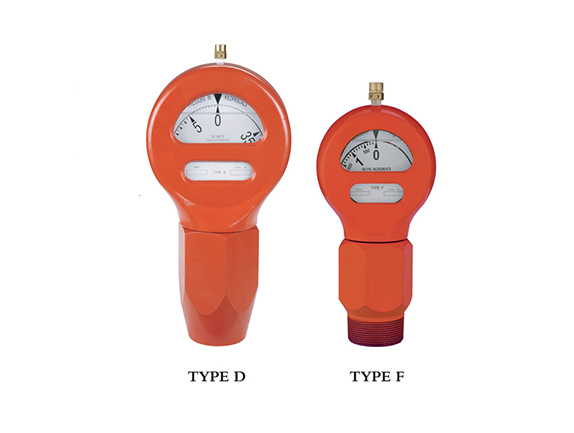 Type D and Type F Oil Field Pressure Gauge